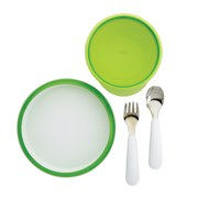 OXO Tot 4 Piece Feeding Set - Green