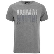 Animal Men's Lead Graphic T-Shirt - Charcoal Grey Marl