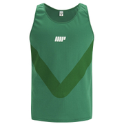 Myprotein Men's Racer Back Running Vest  - Green