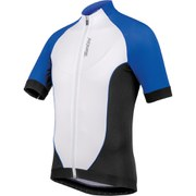 Santini Zero Impact 2.0 Short Sleeve Jersey - Blue/White