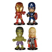 Avengers Age of Ultron Mini Wacky Wobblers Wackelkopf-Figuren 4er-Pack