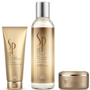 Wella Professionals SP Luxe Oil Keratin Shampoo, Conditioner and Mask