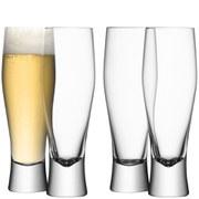 LSA Bar Lager Glasses - 400ml (Set of 4)