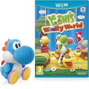 Yoshi's Woolly World + Light Blue Yarn Yoshi amiibo Pack
