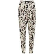 Karl Lagerfeld Women's Swirl Printed Carrot Pants - Paint Swirl