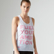Myprotein Damen Burnout Shirt, Weiß