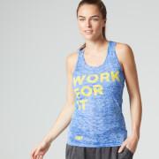 Myprotein Women's Burnout Vest, Blue
