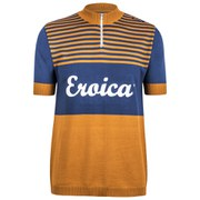 Santini Eroica California 2015 Event Series Short Sleeve Jersey - Ochre Yellow