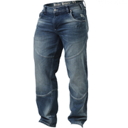 Better Bodies Straight Fit Denim Jeans - Washed Blue