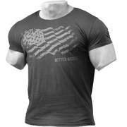 Better Bodies Street T-Shirt - Wash Black