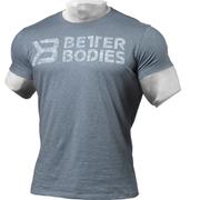 Better Bodies Symbol Printed T-Shirt - Ocean Blue