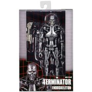 NECA Terminator Endoskeleton 7 Inch Action Figure In Window Box