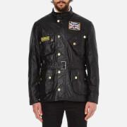 Barbour International Men's Union Jack International Jacket - Black