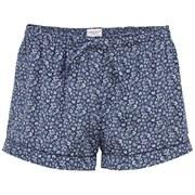 Derek Rose Women's Esme 4 Silk Shorts - Navy