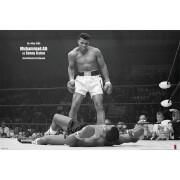 Muhammad Ali Vs Liston Landscape Poster - 24 x 36 Inches Maxi Poster