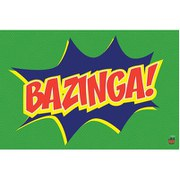The Big Bang Theory Bazinga Icon - 24 x 36 Inches Maxi Poster