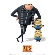 Despicable Me 2 Gru And Minions - 24 x 36 Inches Maxi Poster