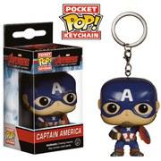 Marvel Avengers Age of Ultron Captain America Pop! Vinyl Key Chain
