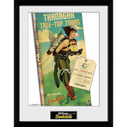 DC Comics Hawkgirl - 16 x 12 Inches Framed Photographic
