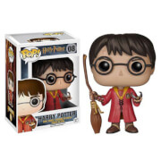 HARRY POTTER - HARRY IN TENUTA DA QUIDDITCH POP! VINYL