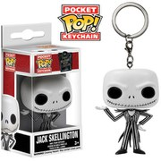 Disney Nightmare Before Christmas Jack Skellington Pocket Pop! Vinyl Key Chain