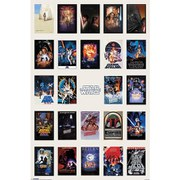 Star Wars One Sheet Collage - 24 x 36 Inches Maxi Poster