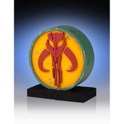 Gentle Giant Star Wars Mandalorian Logo Bookends