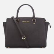 MICHAEL MICHAEL KORS Women's Selma Large Satchel Bag - Black