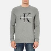 Calvin Klein Men's 90's Re-Issue Sweatshirt - Light Grey Heather
