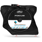 Scicon Aerocomfort 2.0 TSA Bike Bag - Black - Team AG2R Edition