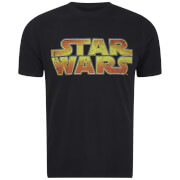 T-Shirt Star Wars Logo Homme -Noir