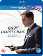 Daniel Craig 007 Double Pack - Casino Royale / Quantum of Solace (Includes HD UltraViolet Copy)