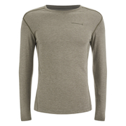 Merrell Geom Long Sleeve T-Shirt - Cappuccino Heather