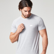 Myprotein Men's Performance Short Sleeve Top - Grey Marl