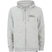 Animal Men's Canyon Zip Through Hoody - Grey Marl