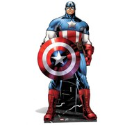 Marvel The Avengers Captain America Kartonnen Figuur