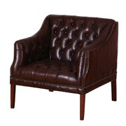 Quilted Leather Chair