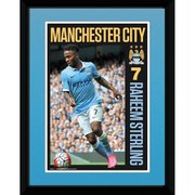 Manchester City Sterling 15/16 - 8 x 6 Inches Framed Photographic