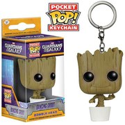 Marvel Guardians Of The Galaxy Baby Groot Pocket Pop! Vinyl Schlüsselanhänger