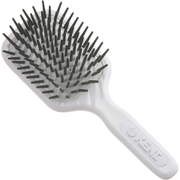 Kent AH8W AirHeadz Medium Fat Pin Cushioned Hair Brush - White