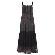 Marc by Marc Jacobs Women's Cherry Pindot Voile Dress - Black