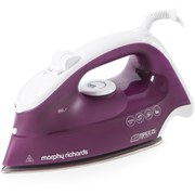 Morphy Richards 300255 Breeze Steam Iron with Ceramic Sole Plate - Mulberry - 2200W