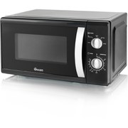 Swan SM40010BLKN Solo Microwave - Black - 800W