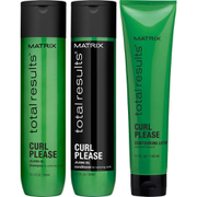 Matrix Total Results Curl Please Shampoo (300ml), Conditioner (300ml) and Contouring Lotion (150ml)