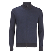 Polo Ralph Lauren Men's Full Zip Athletic Sweatshirt - Indigo Stripe