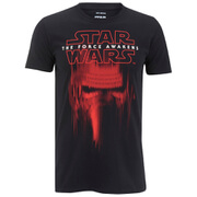 Star Wars Men's Kylo Ren Mask T-Shirt - Black