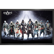 Assassin's Creed Characters - Framed Maxi Poster