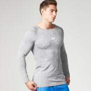 Myprotein Men's Seamless Performance Long Sleeve Top - Grey
