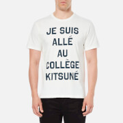 Maison Kitsuné Men's Je Suis Alle T-Shirt - White