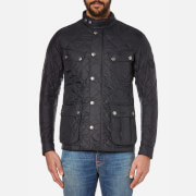 Barbour International Men's Ariel Quilt - Black